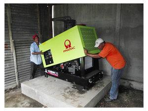 web Pedro                                                         and Rogelio                                                         installing                                                         generator 2