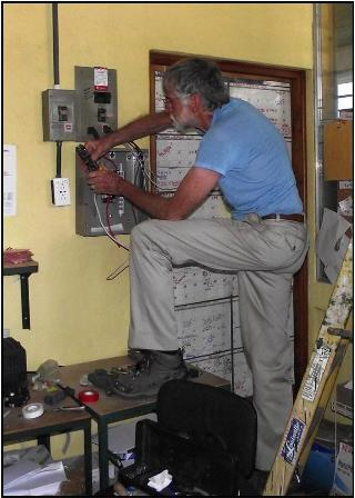 Jim Ludden wiring                                               office electricity